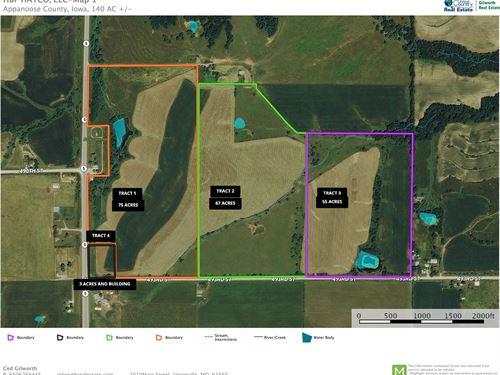 Appanoose Land And Farm For Sale : Unionville : Appanoose County : Iowa