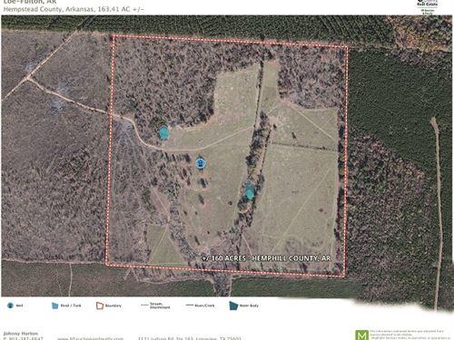 Texas & Arkansas Land : Fulton : Hempstead County : Arkansas