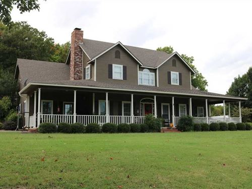 3100 Sq Ft Home And 120 Acres, Big : Big Cabin : Craig County : Oklahoma