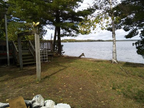 Lake Front Property Caribou Lake UP : De Tour Village : Chippewa County : Michigan