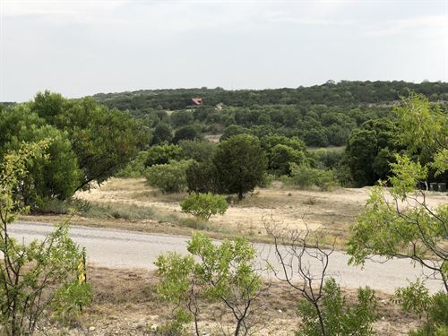 Scenic Lot Overlooking Lake : Bluff Dale : Erath County : Texas