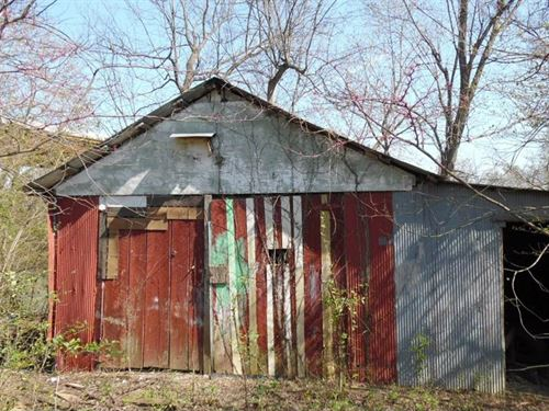Black River Frontage, Barn & Home : Black Rock : Lawrence County : Arkansas
