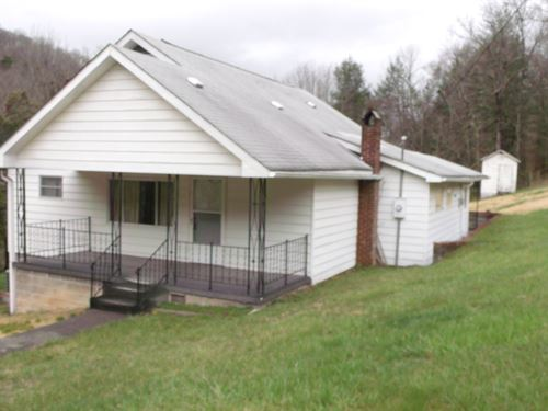 Small Farm Country Home 20 Acres : Forest Hill : Summers County : West Virginia