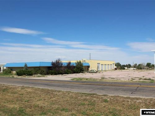 Commercial Warehouse Wheatland, WY : Wheatland : Platte County : Wyoming