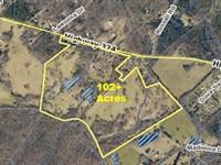 102 Acre Horse Farm With Home : Rock Hill : York County : South Carolina