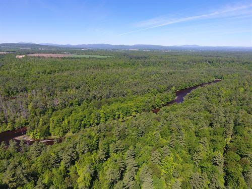 Ausable River : Ausable : Clinton County : New York