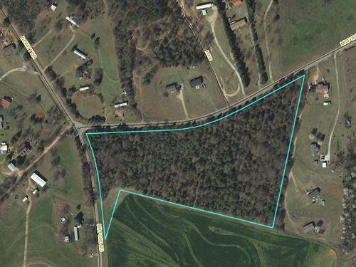 Corner Acreage : Townville : Anderson County : South Carolina