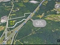 Commercial Acreage Beside I-77 : Rock Hill : York County : South Carolina