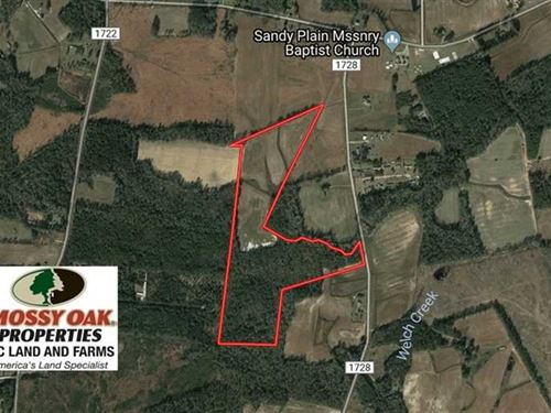 Under Contract, 46 Acres of Farm : Clarkton : Columbus County : North Carolina
