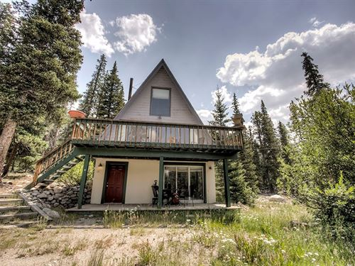 Acreage Country Mountain Home : Fairplay : Park County : Colorado