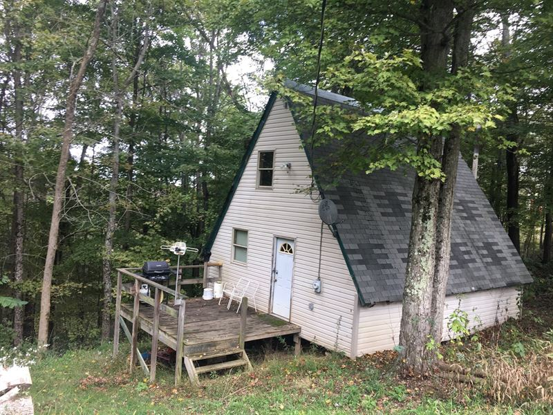 Monroe County, OH Hunting Cabin 3 : Land for Sale