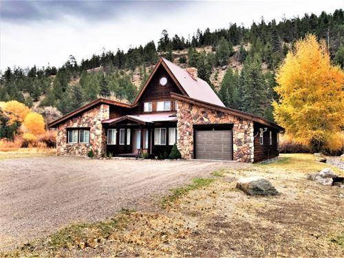 Riverfront Cottage : South Fork : Rio Grande County : Colorado