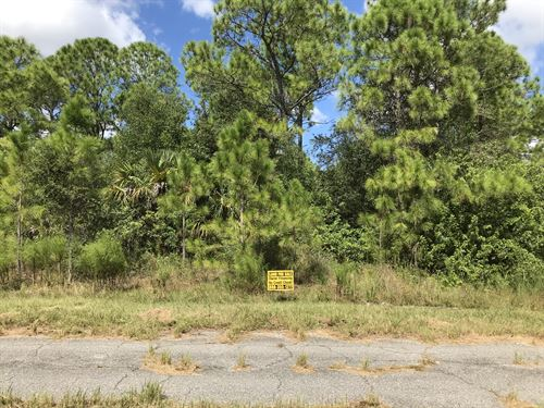 Double Size Lot Zoned Two Family : North Port : Sarasota County : Florida