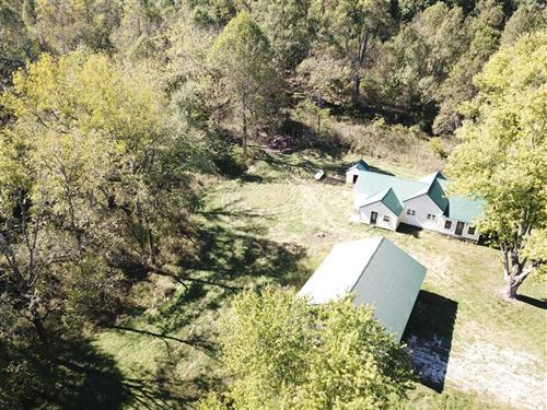 39 Acres, Home in Middle of Remod : Williams : Lawrence County : Indiana
