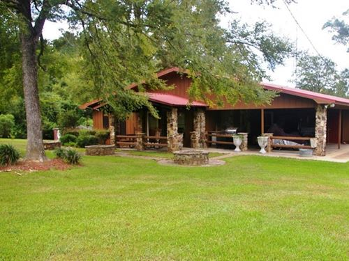 3 Bed, 2 Bath Country Home For Sale : Liberty : Amite County : Mississippi