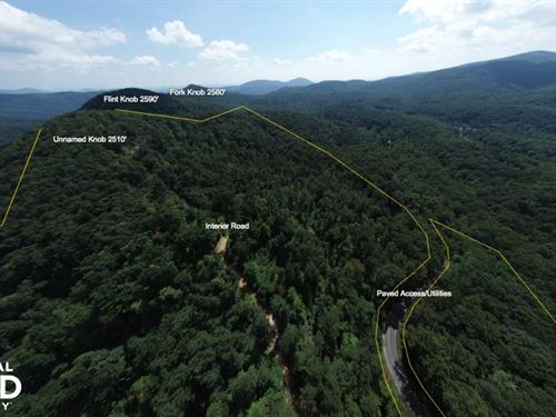 Layered Long Range Views, Paved Acc : Black Mountain : Buncombe County : North Carolina