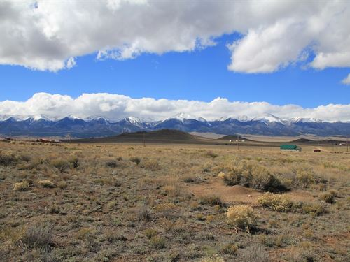 Colorado Mountain View Lot No : Westcliffe : Custer County : Colorado