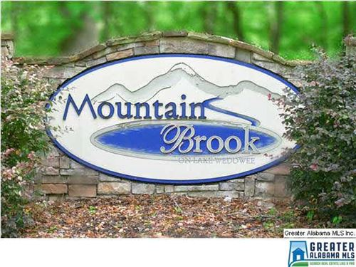 Lot 7 Mountain Brook : Wedowee : Randolph County : Alabama