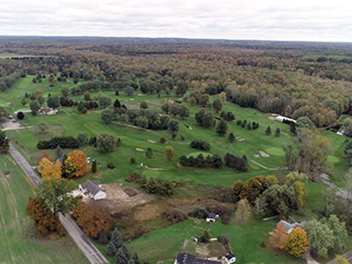 Rogue River Golf Club Auction : Sparta : Kent County : Michigan