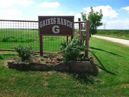 194 Acres Gaines Arena Ranch Prope : Petrolia : Clay County : Texas