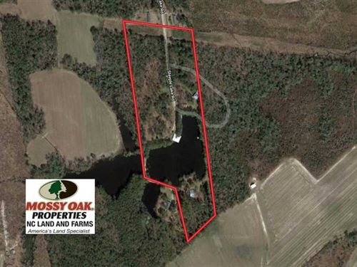Under Contract, 18.23 Acres of Re : La Grange : Greene County : North Carolina