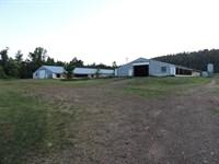 Poultry Farm For Sale in Arkansas : Mena : Scott County : Arkansas