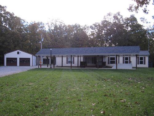 Impressive Property 108.5 Acres : Rolla : Dent County : Missouri