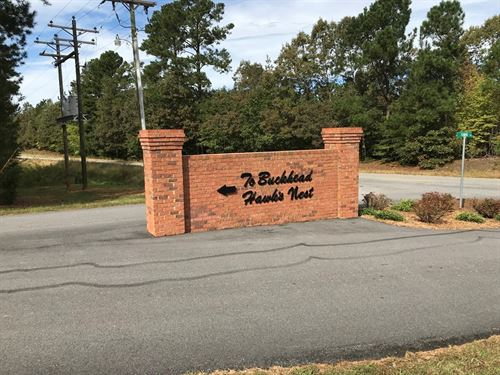 5 Acres Lakeside Subdivision Lake : Bracey : Mecklenburg County : Virginia