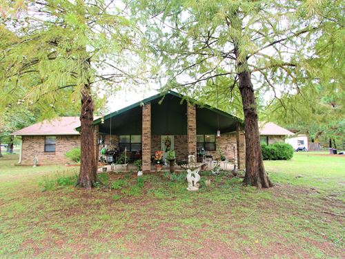 Brick Country Home In Powderly Tx : Powderly : Lamar County : Texas