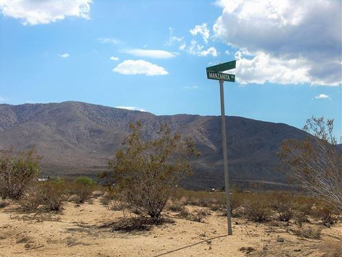 Prime 5 Ac, Power & Easy Access : Johnson Valley : San Bernardino County : California