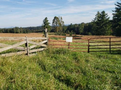20.99 Ac, 2 Ponds, 10+ Ac Pasture : Deer Lodge : Morgan County : Tennessee