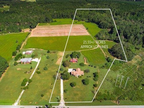21+ Acre Ranch With Barn : Good Hope : Morgan County : Georgia