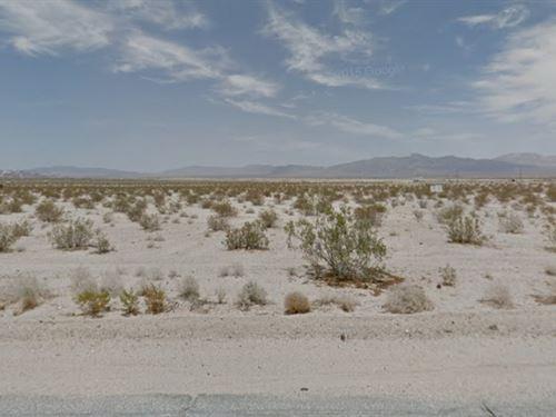 5 Acres Property In Wonder Valley : Wonder Valley : San Bernardino County : California