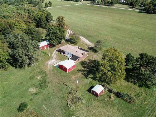 40 Acres Brick Home For Sale in Bu : Poplar Bluff : Butler County : Missouri