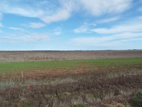 Absolute Land Auction 160 Acres : Grandfield : Oklahoma County : Oklahoma