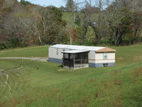 Well Maintained Singlewide & 1 Acre : Mouth Of Wilson : Grayson County : Virginia