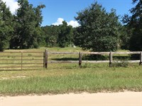 10.48 Ac In Crawfordville : Crawfordville : Wakulla County : Florida