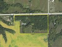 38 Ac, M/L, Excellent Hunting Pro : Bonaparte : Van Buren County : Iowa