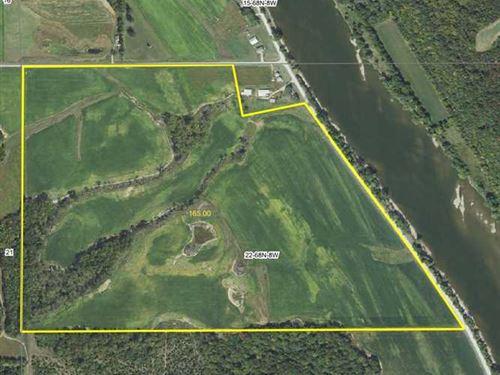 Highly Productive Tillable Farm in : Bonaparte : Van Buren County : Iowa