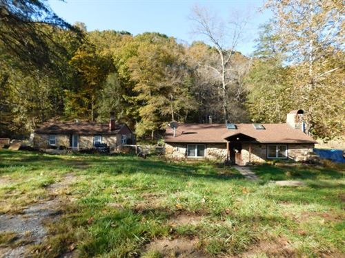 2 Stone Cottages 4.18 Acres : Bloomery : Hampshire County : West Virginia