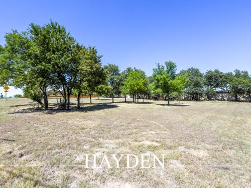 Lovely Lot Dotted With Oak Trees : Stephenville : Erath County : Texas