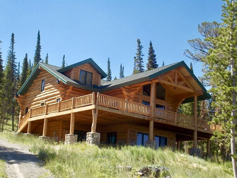 Bebout Cabin : Dubois : Fremont County : Wyoming
