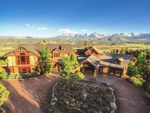 Price Reduction $4.29M, Private : Ridgway : Ouray County : Colorado