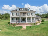 65 Beautiful Acres 5,700 Sq/Ft Home : Madisonville : Madison County : Texas