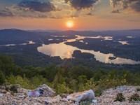 Lake James Lakefront : Nebo : Burke County : North Carolina