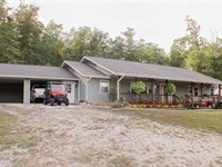 Home on 29 Acres For Sale in Carte : Van Buren : Carter County : Missouri