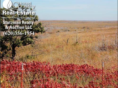 160 Acres Land Grazing Hunting Lake : Lake City : Barber County : Kansas