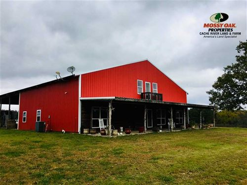 Strawberry River Cattle Farm And : Wiseman : Izard County : Arkansas