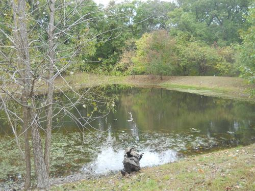 Secluded 6 Acres Offering 3 Bedroom : Osceola : Saint Clair County : Missouri