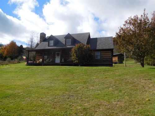 Log Home For Sale in Franklin, WV : Franklin : Pendleton County : West Virginia